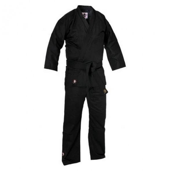 """Karate Kimono """"Bushido"""" - Black"""