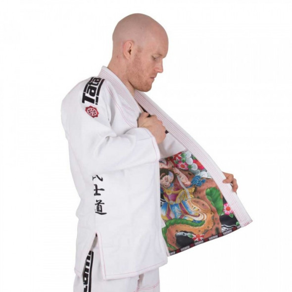 Kimono de JJB Tatami Fightwear - Japan Series - Samurai - Blanc