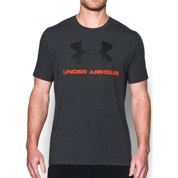 T-shirt Under Armour Sportstyle Logo - Noir