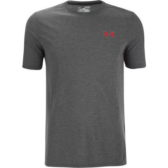 T-shirt Under Armour Threaborne Fitted - Gris