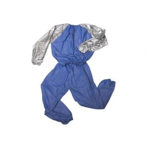 Combinaison de sudation Metal Boxe Sauna suits - Blue/Grey