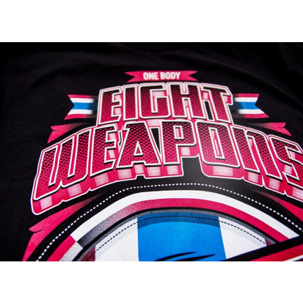 T-shirt 8 weapons Mighty Thailand