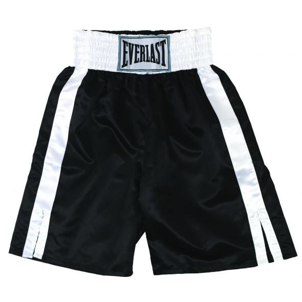 Short de boxe anglaise Everlast - Noir/Blanc
