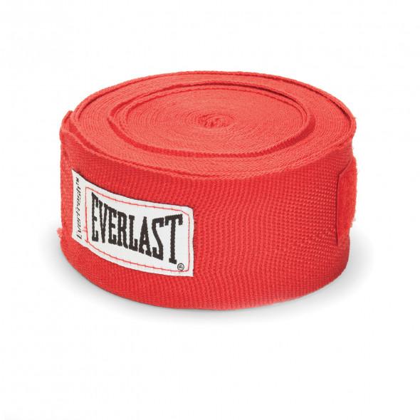 Bandes de boxe Everlast - Rouge - 2.5 mètres