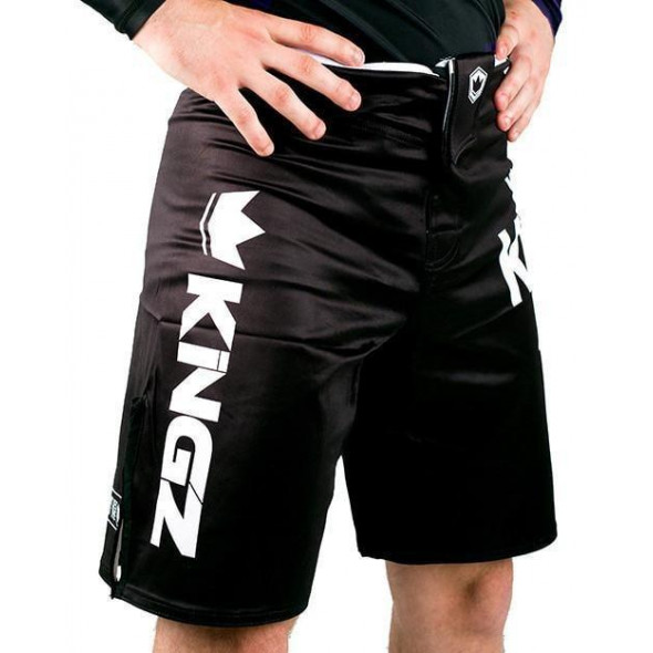 Short de grappling Kingz KGZ - Noir