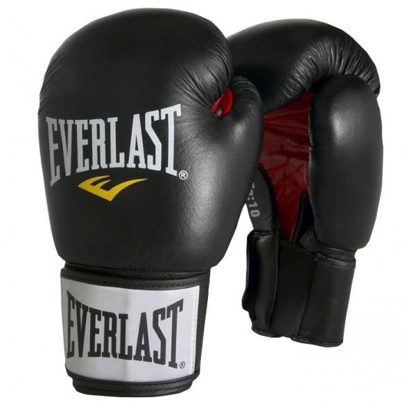 Gants de boxe Everlast Ergofoam - Noir