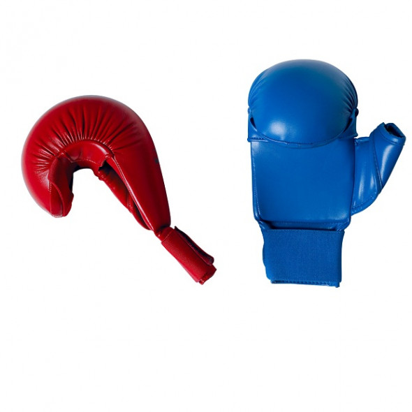 Official mittens FF Karate - Blue/Red