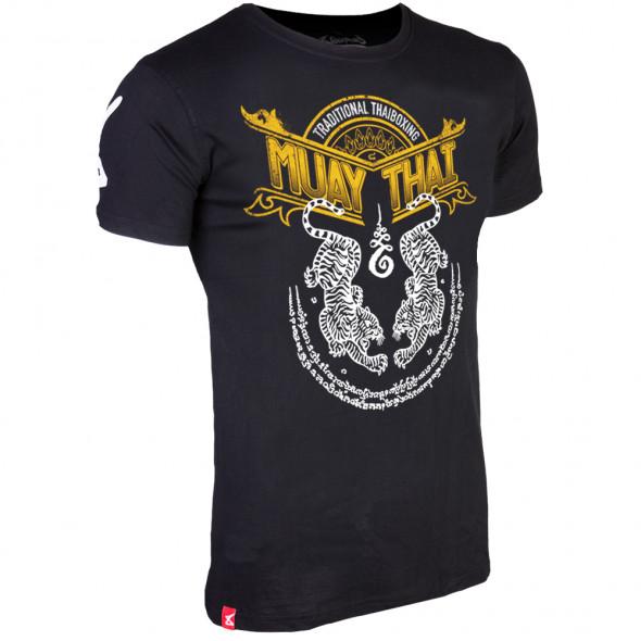 8 WEAPONS Sak Yant Tigers Muay thai T-shirt