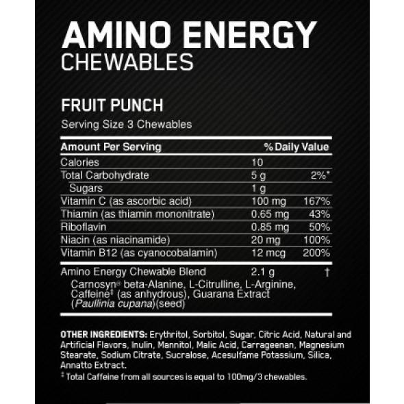 Amino Energy® Optimum Nutrition - 30 doses