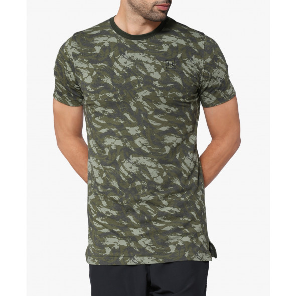 T-shirt imprimé Under Armour Sportstyle - Vert