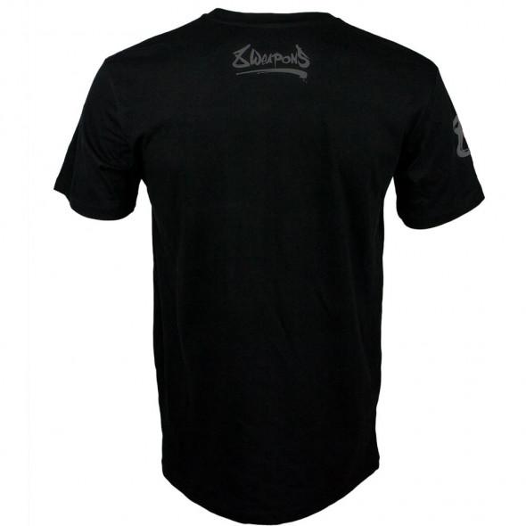 T-shirt 8 Weapons Unlimited Grey - Noir