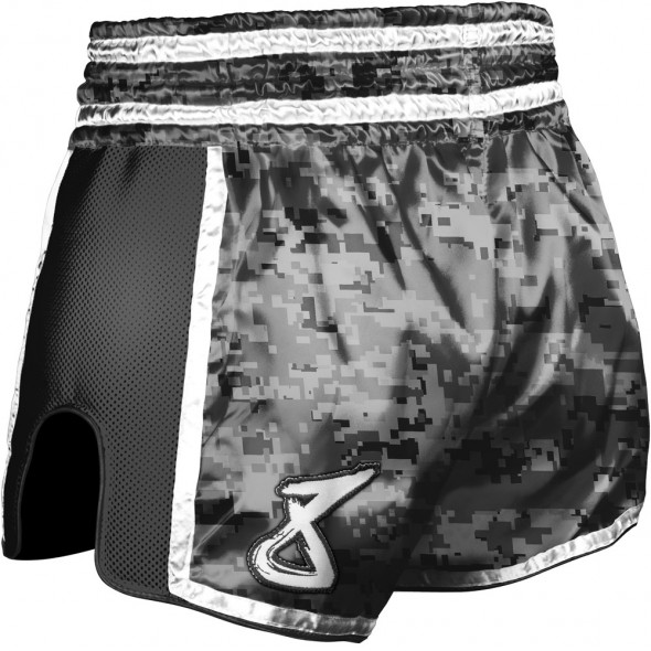 Short Muay Thai 8 Weapons Super Mesh City Camo