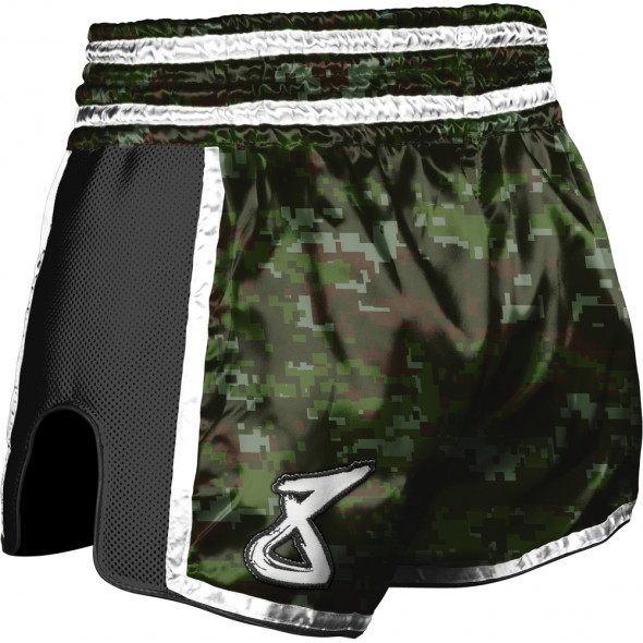 Short Muay Thai 8 WEAPONS Super Mesh Camo