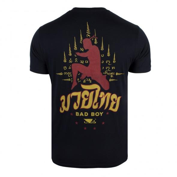 T-shirt Bad Boy Muay Thai Strike - Noir