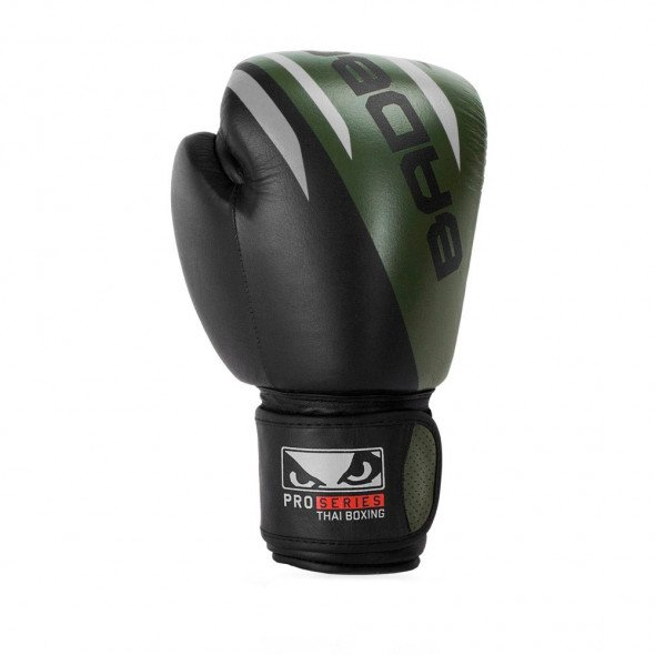 Gants de Boxe Thaï Bad Boy Pro Series Advanced - Noir/Vert