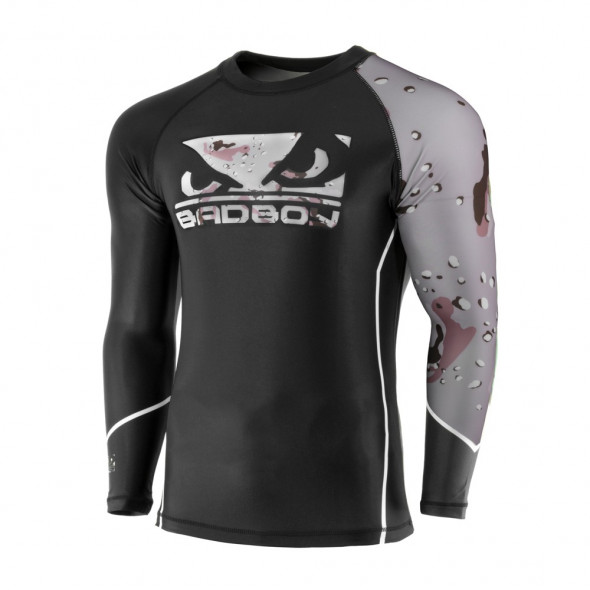 Rashguard Bad Boy Soldier - Noir/Marron