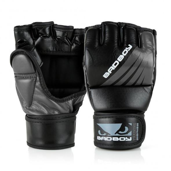 Gants de MMA Bad Boy Training Series Impact - Avec Pouces - Noir/Gris