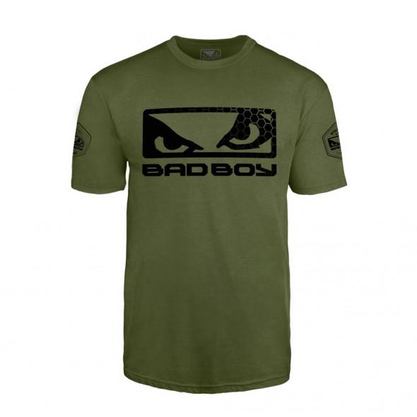 T-Shirt Bad Boy Walkout Prime - Vert/Noir