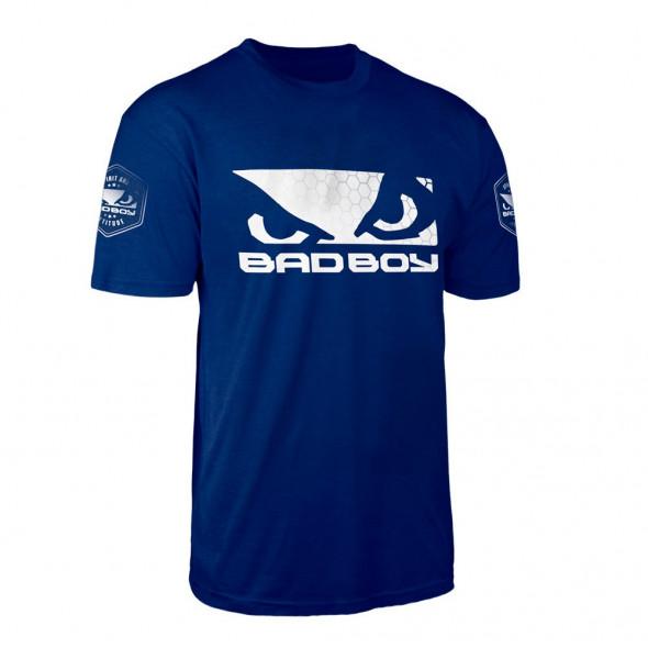 T-Shirt Bad Boy Walkout Prime - Bleu Marine