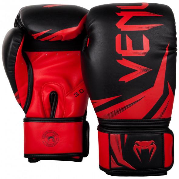 Venum Challenger 3.0 Boxing Gloves - Black/Red