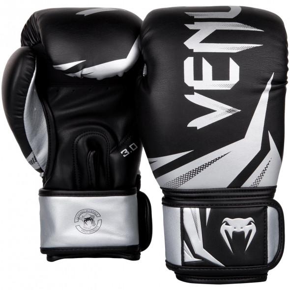 Venum Challenger 3.0 Boxing Gloves - Black/Silver