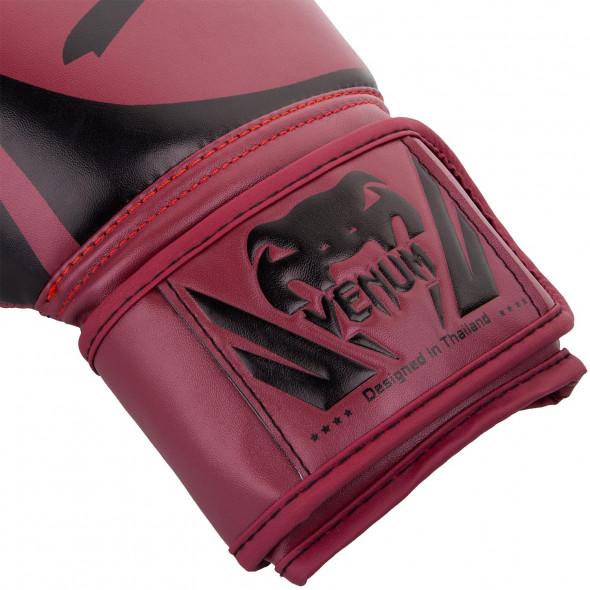 Venum Challenger 2.0 Boxing Gloves - Red Wine/Black