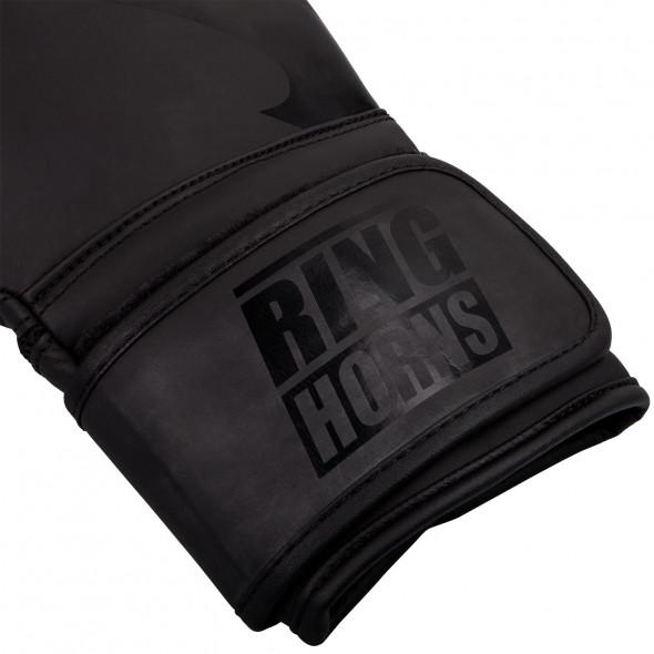 Ringhorns Charger Boxing Gloves - Black/Black
