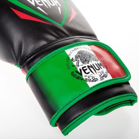 Venum Contender Boxing Gloves - Mexico - noir