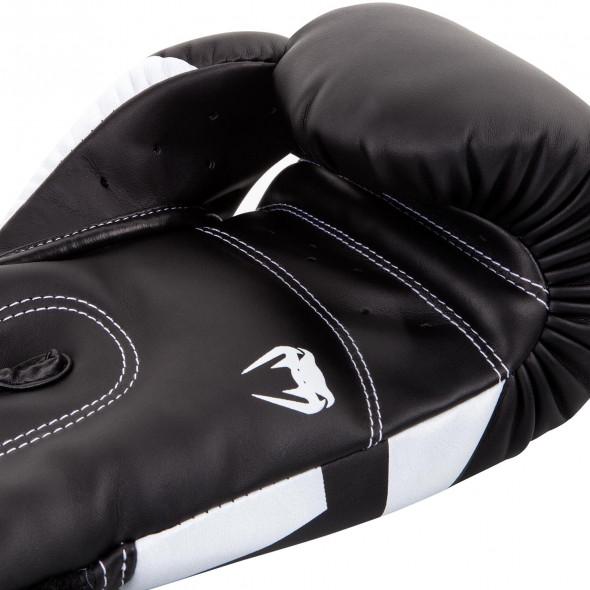 Venum Elite Boxing Gloves - Black/Red/Grey