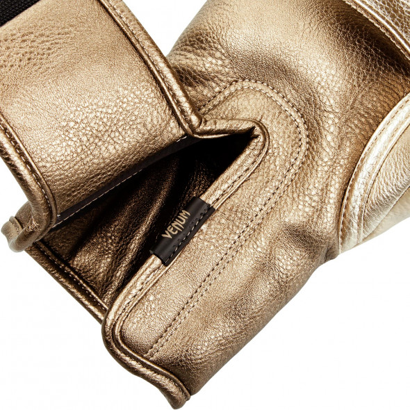 Venum Impact Boxing Gloves - Gold/Gold