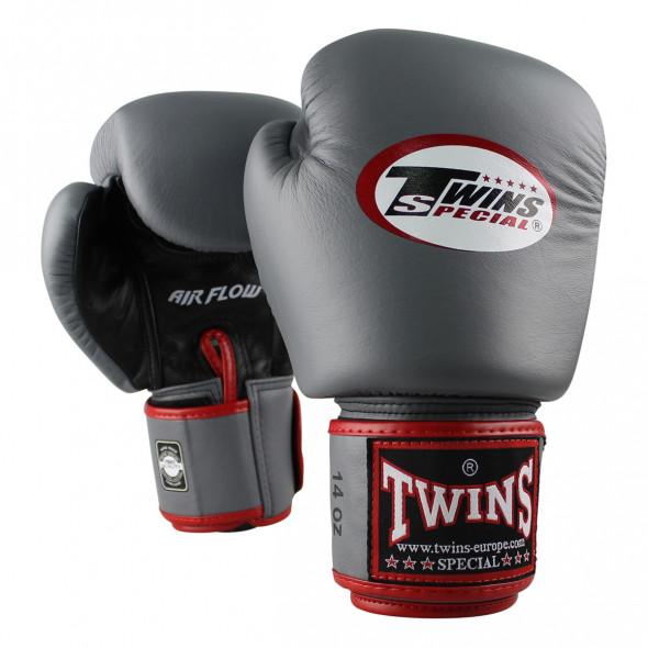Gants de boxe Twins BGVL-3 - Gris/Noir