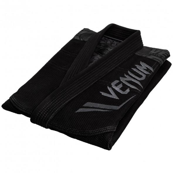 Venum Elite BJJ Gi - Black/Black