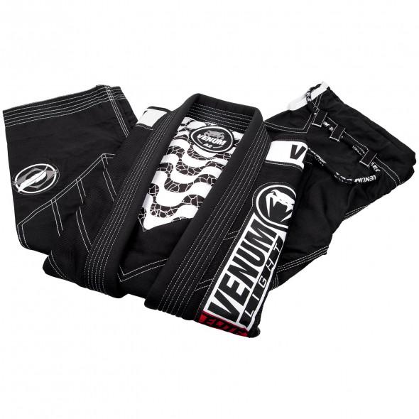 Venum Elite Light 2.0 BJJ Gi - (Bag Included) - Black