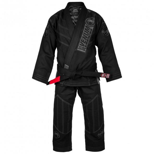 Venum Elite Light 2.0 BJJ Gi - (Bag Included) - Black/Black