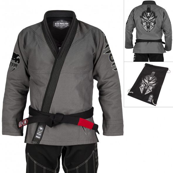Venum Absolute Gladiator BJJ Gi (Bag included) - Grey/Black