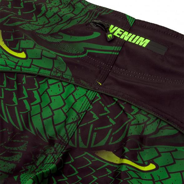 Venum Green Viper Boardshorts - Black/Green