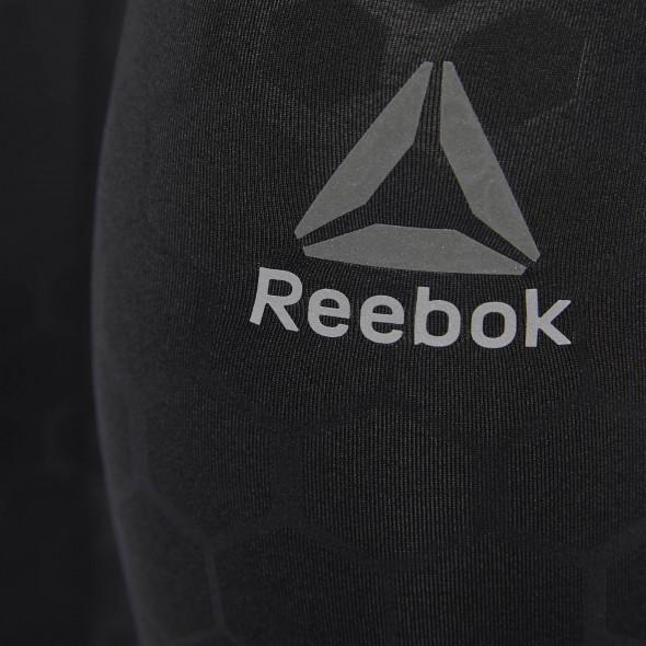 Pantalon de compression Reebok Hex Reflective Tight