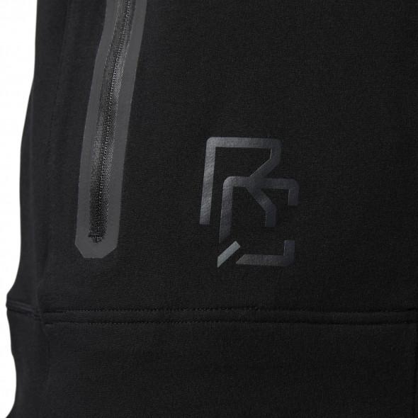 Veste à capuche Reebok Combat  Tech full-zip - Noire