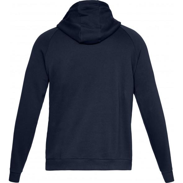 Sweat à capuche Under Armour Rival Fleece Logo - Bleu Marine