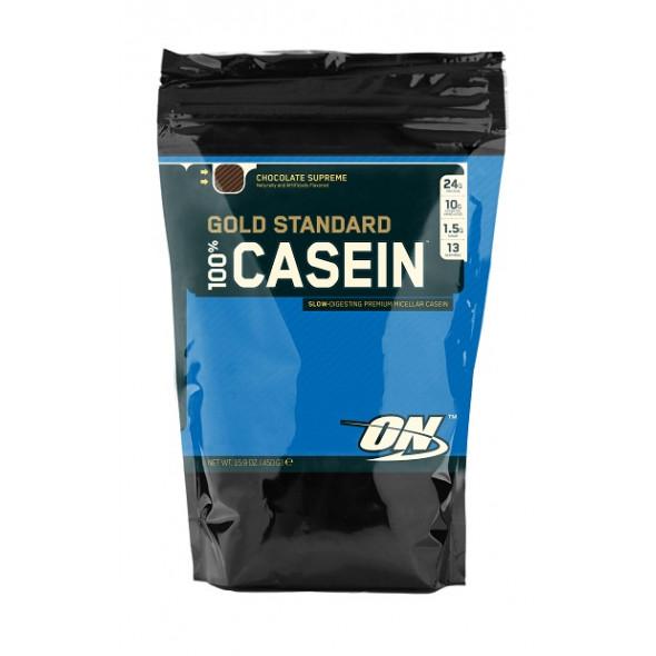 Gold Standard 100% Casein® Optimum Nutrition - 450 gr