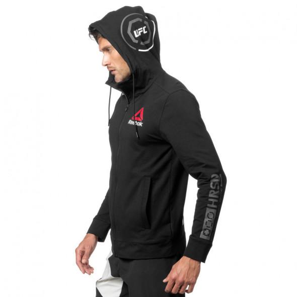 Sweatshirt Reebok UFC Fight Night Blank Walkout - Noir