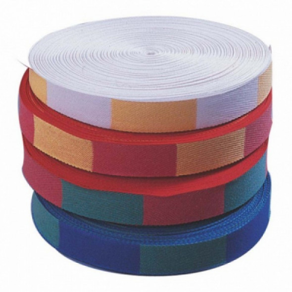 Bicolour judo belt – roll of 50m Fujimae
