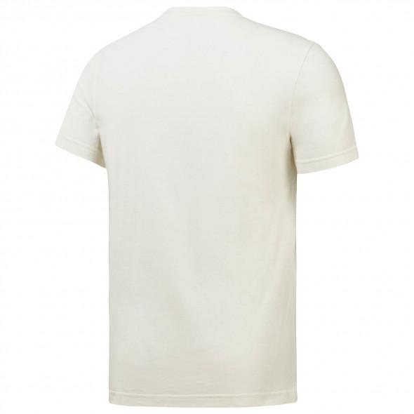 T-shirt UFC FG Reebok - Blanc