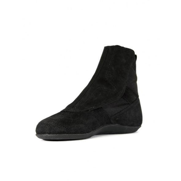 Chaussures de boxe française Rivat F1 - Noir