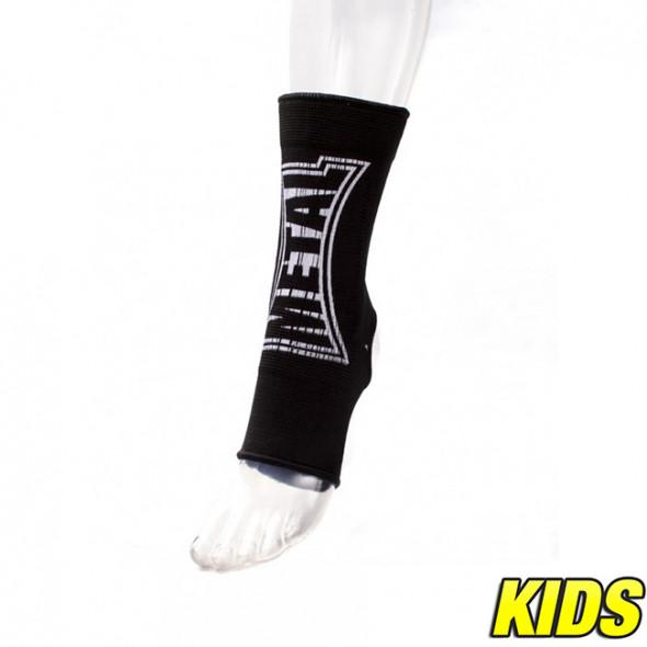 Metal Boxe Ankle pads elastic cotton  – Black