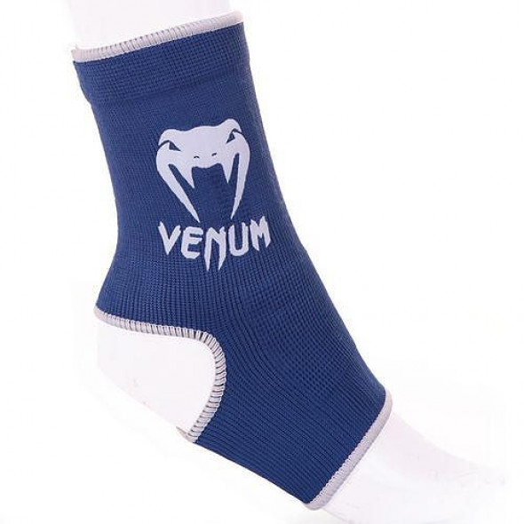 "Venum ""Kontact"" Ankle Support Guard - Muay Thai / Kick Boxing - Blue"