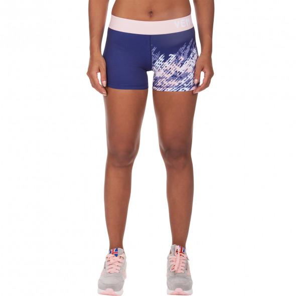 Venum Neo Camo Shorts - Navy Blue/Coral