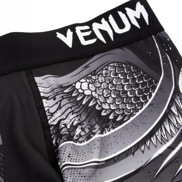 Venum Phoenix Compression Shorts - Black/White - For Women