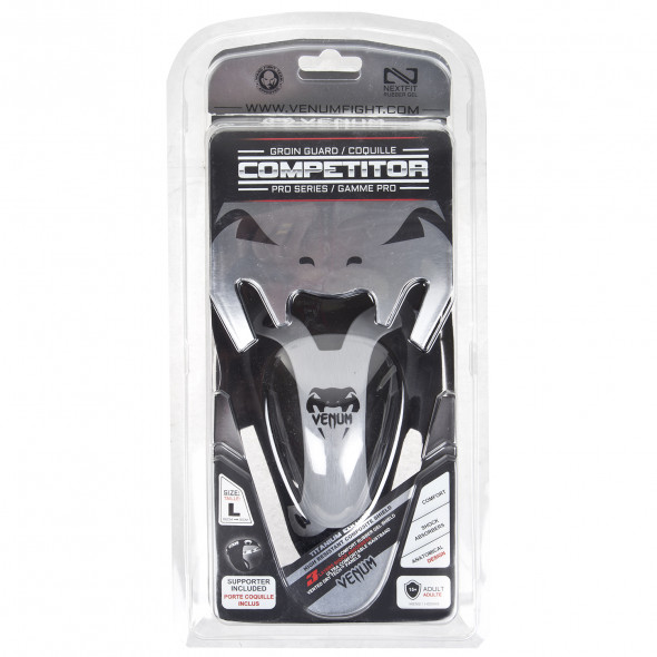 """Venum """"Competitor"""" Groinguard & Support - Silver Series"""