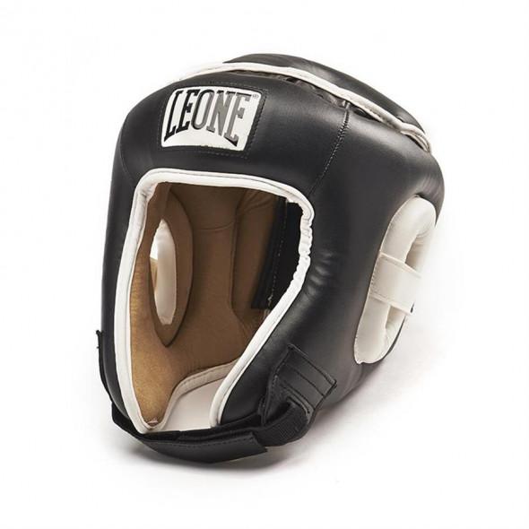 Casque de boxe Leone Combat - Noir